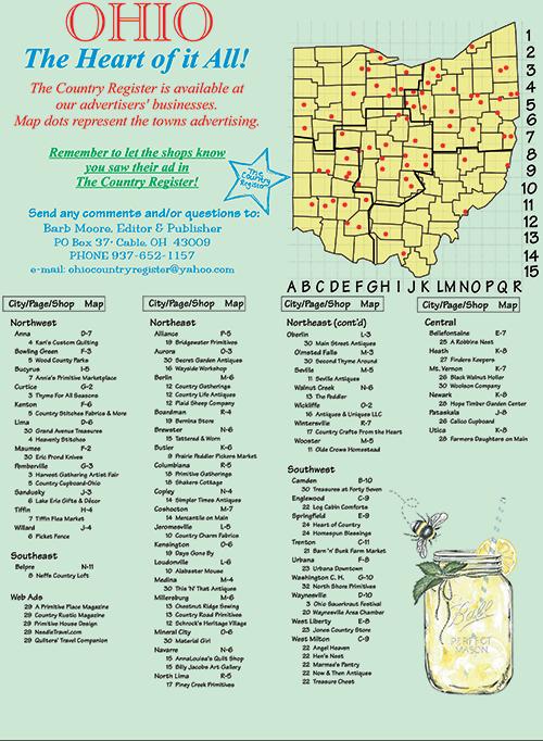 Ohio Country Register